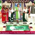 Mishi Khan Came Wearing A Typical Pushtoon Dress And Did A Traditional Dance