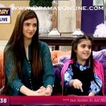 Moammar Rana KI 6 Sala beti ne Nida Yasir k live morning show pe ghar jamayi ki farmaish kardi