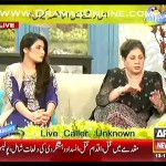 Mrs Khan started defending husbands in the matter of problems in marriage then everyone stared shuting her up