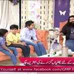 Nadeem Jafery Asking Private Things of Nida & Yasir from their Son