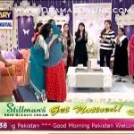 Nida Yasir Ne Roote Roote Javeria Abbasi Ka Welcome Kia Jo Wo Lahore Se Morning Show Chor Kar Karachi Agayi