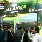 Nida Yasir Showing Clips of Jalebi's Premier showing many celebrities of Pakistan
