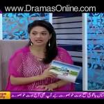 Saba Qamar Shared Her Diet Plan In Live Show
