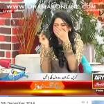 Sanam Baloch Ne Abrar Ul Haq Se Live Morning Show Me Tareef Karwa Li or I Love You Bhi Kehel Wa Liya