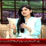 Sanam Baloch telling her story that she has an asthama problem