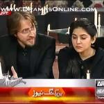 Sanam Baloch's husband, Tehreem & Adnan Shah Tipu sharing their grief over peshawar attack