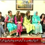 Sara Khan telling a wierd incident when a lady in burqa followed her to her home from a mall