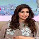 Sarmad Khoosat Surprise Call Make Shocked Saba Qamar In Live Show