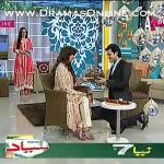 Sarwat Gillani or Fahad ne Aik Dusre Ko Live Morning Show Pe Propose Kar Dala
