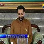 See How Amir Liaquat Praising Nawaz Shareef In Live Show