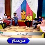 See the Reaction of Sanam Baloch when a Snake appeared on her Live Morning Show