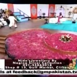See What Nida And Yasir Nawaz Doing in Live Show